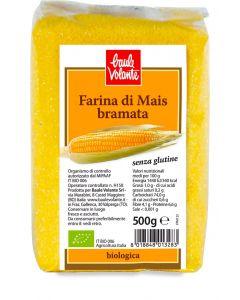 Farina di mais bramata 500 g BIO senza glutine  (min. acquisto 10 pezzi)