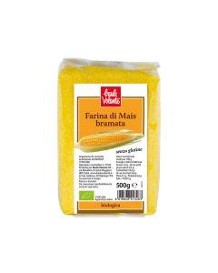 Farina di mais bramata senza glutine 500 g BIO (min. acquisto 10 pezzi)