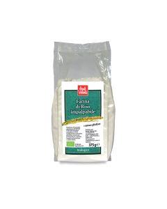 Farina di riso impalpabile senza glutine 375 g BIO (min. acquisto 10 pezzi)