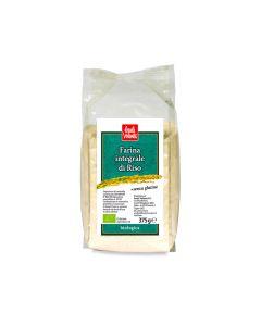 Farina di riso integrale senza glutine 375 g BIO (min. acquisto 10 pezzi)