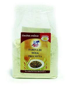 Farina di soia precotta 250 g BIO