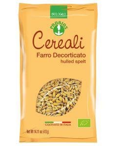 Farro decorticato coltivato in Italia 400 g BIO