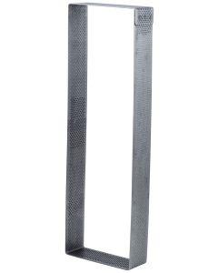 Fascia forata Inox Rettangolare 190x70xh.20 mm