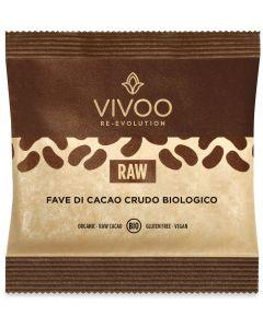 Fave di cacao crudo 40 g BIO senza glutine  (min. acquisto 10 pezzi)