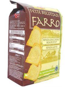 Fette Biscottate di Farro 200g BIO - La Finestra sul Cielo