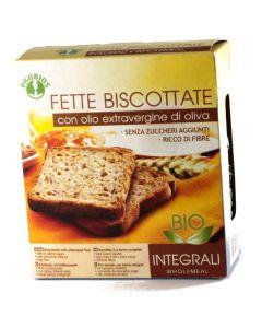 Fette biscottate integrali con olio extravergine 270g BIO