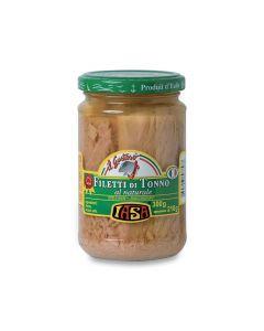 Filetti di tonno al naturale Iasa300g300 g - 210 g sgocc. (min. acquisto 6 pezzi)