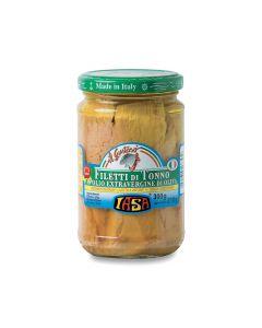 Filetti di tonno in olio extravergine di oliva Iasa 300 g BIO (min. acquisto 6 pezzi)