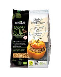 Fiocchi di soia senza glutine 180 g BIO (min. acquisto 10 pezzi)