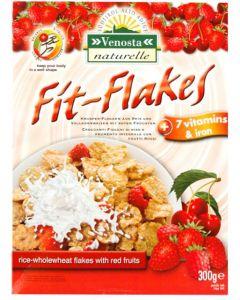 Fit Flakes Frumento, Riso e Frutti Rossi 300g