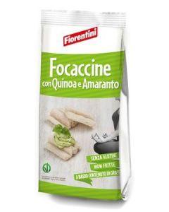 Focaccine Quinoa E Amaranto Senza glutine 100 g
