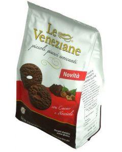 Frollini al cacao e nocciole senza glutine 250g