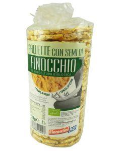 Gallette con semi di finocchio 120g BIO senza glutine