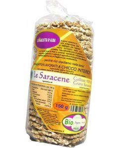 Gallette di grano saraceno le saracene 150 g BIO