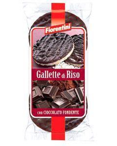 Gallette di Riso con Cioccolato Fondente 100g senza glutine