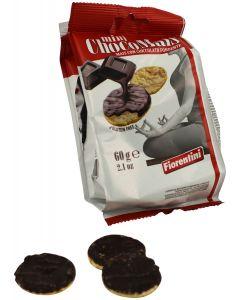 Gallette (mini) di Mais con cioccolato fondente 60g senza glutine