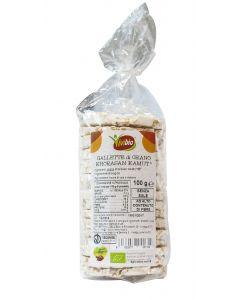 Gallette di grano khorasan KAMUT® 100g BIO