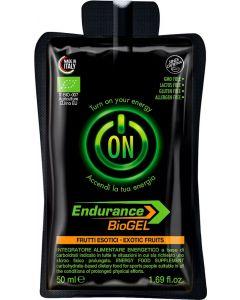 Gel endurance - senza caffeina - ai frutti rossi 50 ml BIO senza glutine