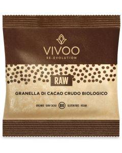Granella di cacao crudo 40 g BIO senza glutine  (min. acquisto 10 pezzi)