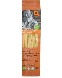 Graziella ra® - spaghetti semintegrali trafilati al bronzo 500 g BIO  (min. acquisto 10 pezzi)