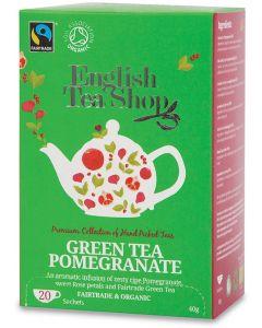 Green tea pomegranate 40 g BIO  (min. acquisto 10 pezzi)