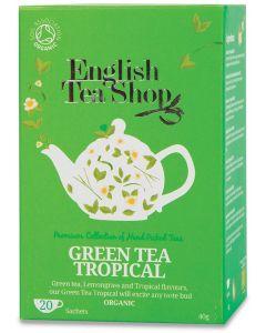 Green tea tropical fruit 40 g BIO  (min. acquisto 10 pezzi)