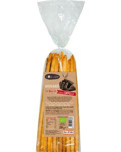Grissidì di grano duro cappelli 200 g BIO  (min. acquisto 10 pezzi)