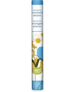 Incenso lemongrass e benzoino 30 BIO  (min. acquisto 10 pezzi)