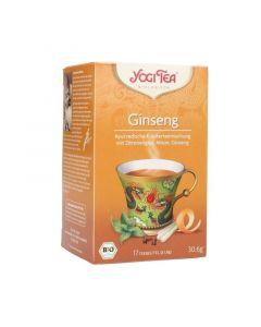 Infuso ayurvedico di erbe e spezie Ginseng 30,6 g - 17 filtri BIO (min. acquisto 10 pezzi)