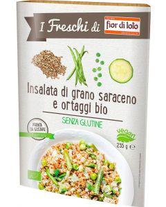 Insalata di grano saraceno e ortaggi 235 g BIO senza glutine  (min. acquisto 10 pezzi)