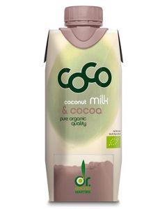 Latte di cocco con cacao 330 ml BIO (min. acquisto 10 pezzi)