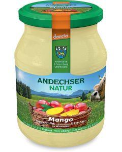 Latte fermentato mango 500 g BIO  (min. acquisto 10 pezzi)