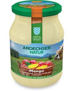 Latte fermentato mango vaniglia 500 g BIO  (min. acquisto 10 pezzi)