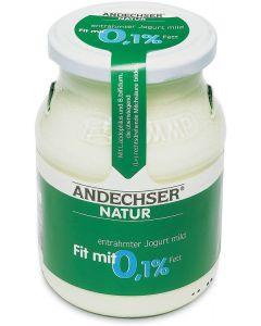 Latte fermentato naturale magro 0,1% 500 g BIO  (min. acquisto 10 pezzi)