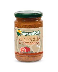 Lenticchie Lessate al Pomodoro 300g BIO (min. acquisto 10 pezzi)
