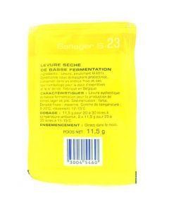Lievito per Birra (Bassa fermentazione) - Saflbrew S-33 11,5g