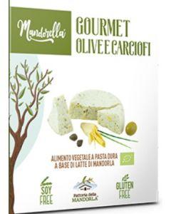 Mandorella gourmet olive e carciofi 180 g (min. acquisto 10 pezzi)