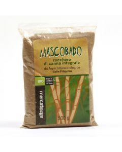 Zucchero integrale di canna Mascobado 500 g