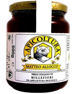 Miele Millefiori Italiano 500 g BIO (min. acquisto 10 pezzi)