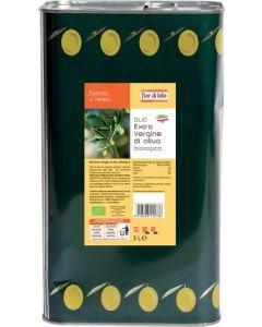 Olio extravergine di oliva latta 3 litri 3 L BIO