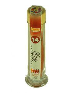 Peperoncino 7 Pod in polvere (n. 14) 12g (min. acquisto 10 pezzi)