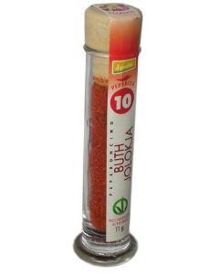Peperoncino Bhut Jolokja in polvere (n. 10) 12g BIO (min. acquisto 10 pezzi)