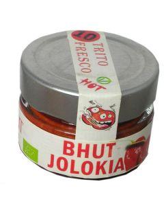 Peperoncino Bhut Jolokja - Trito Fresco 45g BIO (min. acquisto 10 pezzi)