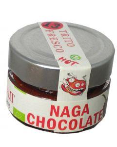 Peperoncino Naga Chocolate - Trito Fresco 45g (min. acquisto 10 pezzi)