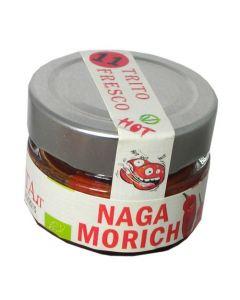 Peperoncino Naga Morich - Trito fresco 45g BIO (min. acquisto 10 pezzi)
