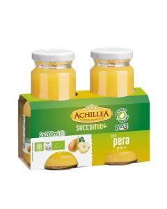 Bevanda di frutta SuccoMio alla pera 2x200ml