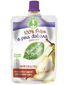Polpa pera e banana confezione doypack 100 g BIO
