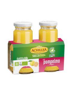 Bevanda di frutta SuccoMio al pompelmo 2x200ml