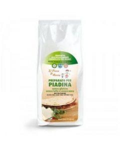 Preparato per Piadina 500 g senza glutine e senza latte (min. acquisto 10 pezzi)