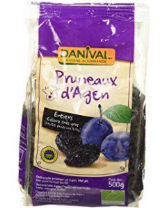 Prugne d'Agen disidratate grandi denocciolate Danival 250 g BIO (min. acquisto 6 pezzi)